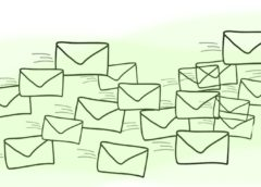 emailing social media