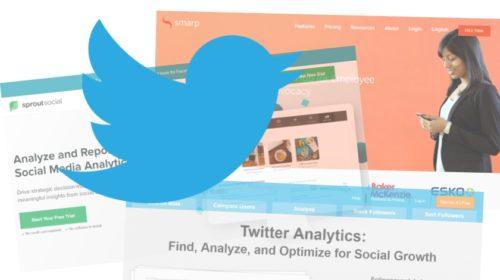 6 nástrojů k analýze Twitter marketingu a obsahu