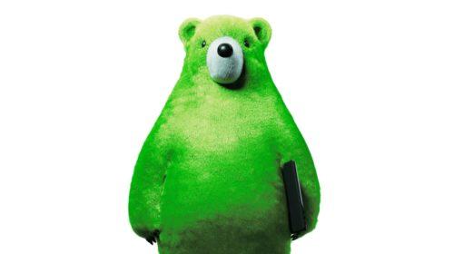 Zelený medvěd pomůže s ochranou dětí na internetu