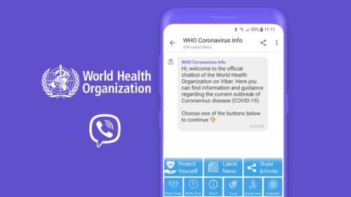 WHO a Rakuten Viber společně proti dezinformacím týkajícím se COVID-19
