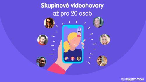Skupinové videohovory v aplikaci Viber spuštěny v ČR