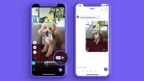 Viber uvádí zcela novou funkci pro vytváření vlastních GIFů