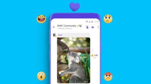 Viber již brzy rozšíří možnosti vašeho vyjadřování s pomocí reakcí na zprávy
