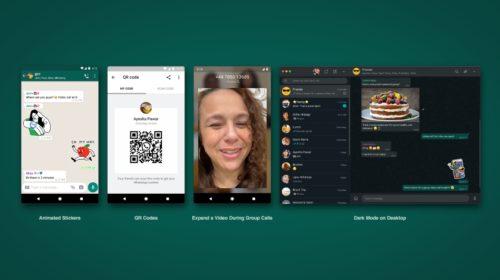 WhatsApp uvádí animované nálepky, QR kódy a nové možnosti videohovoru