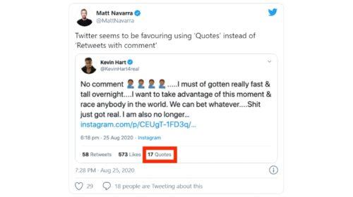 """Twitter testuje nahrazení """"Retweetů a komentářů"""" novým počtem """"Citací"""""""