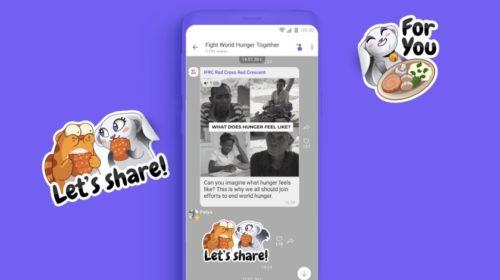 Viber startuje kampaň proti hladomoru